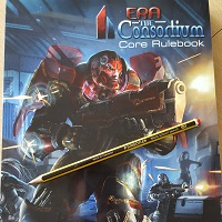 Era: The Consortium RPG Core Rulebook Softcover -  Shades of Vengeance