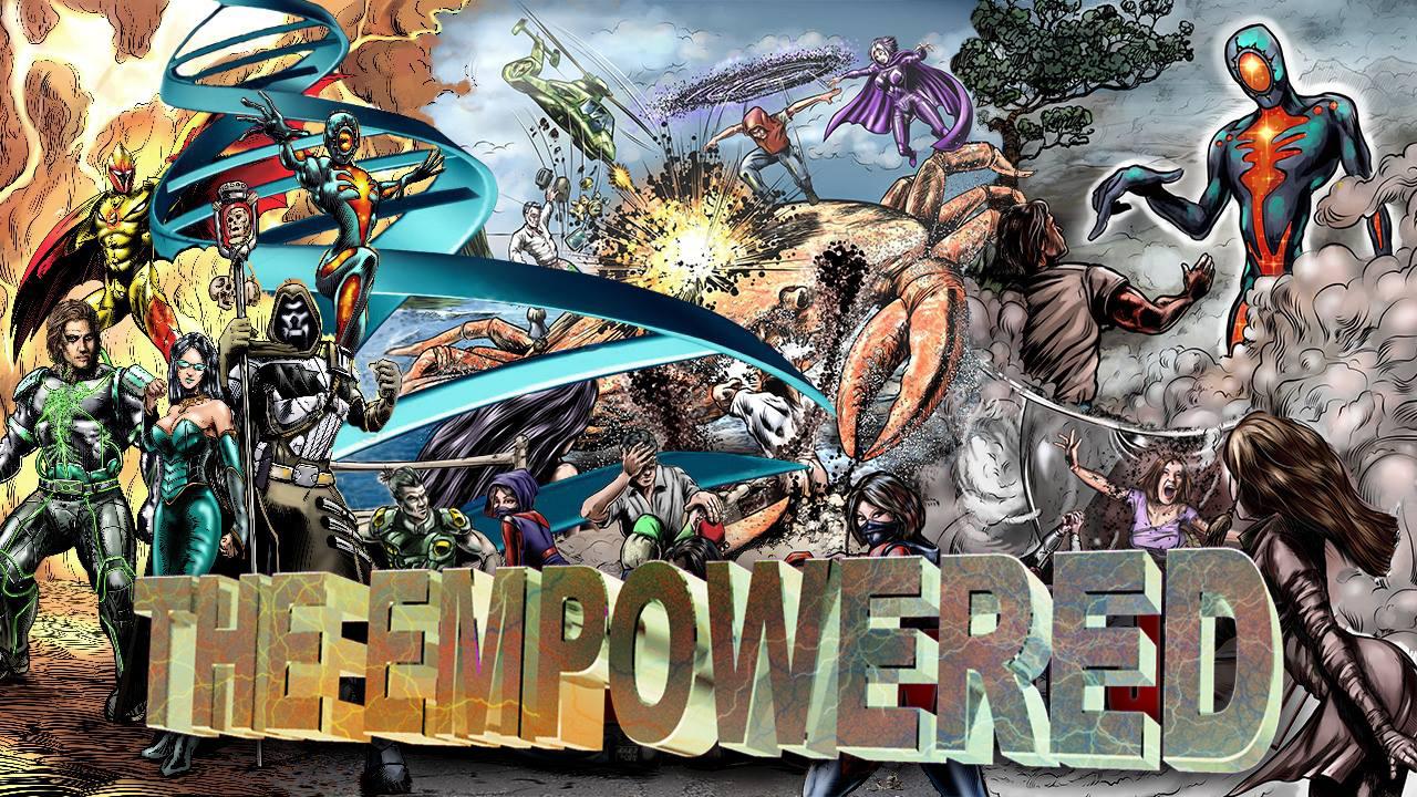 The Empowered Kickstarter Title Image Drop Shadow