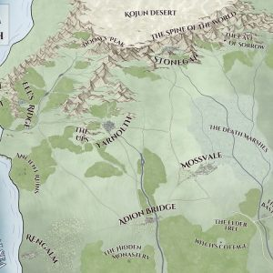 Map of The Kingdom of Yarnolth - Websafe