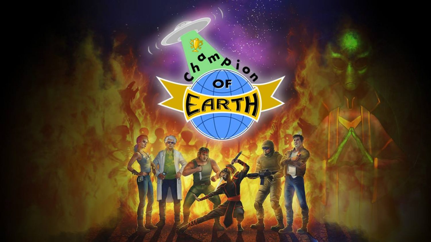 Champion of earth card game